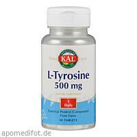 L TYROSIN 500MG, 30 ST, Supplementa Corporation B.V.