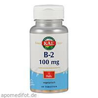 Vitamin B 2 Riboflavin 100 mg, 60 ST, Supplementa Corporation B.V.