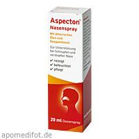 Aspecton Nasenspray (entspricht 1.5% Kochsalz-Lös), 20 ML, Hermes Arzneimittel GmbH