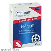 Sterillium Protect & Care Tissues, 10 ST, Paul Hartmann AG