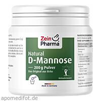 Natural D-Mannose aus Birke ZeinPharma, 200 G, Zein Pharma - Germany GmbH