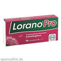 LoranoPro 5mg Filmtabletten, 18 Stück, HEXAL AG