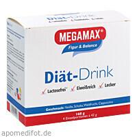 MEGAMAX DIAET DRINK 4 Sorten, 4X42 G, Megamax B.V.