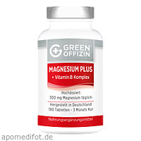 Green Offizin - Magnesium Plus, 180 ST, Green Offizin S.r.l.