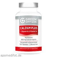 Green Offizin - Calzium Plus, 120 ST, Green Offizin S.r.l.