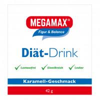 MEGAMAX DIAET DRINK Karam. Einzelport., 42 G, Megamax B.V.