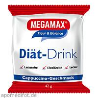 MEGAMAX DIAET DRINK Cappu. Einzelport., 42 G, Megamax B.V.