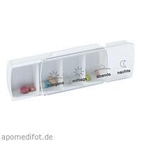 ANABOX Compact Tagesbox weiß, 1 ST, Wepa Apothekenbedarf GmbH & Co. KG