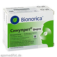 Sinupret forte überzogene Tabletten, 100 ST, kohlpharma GmbH