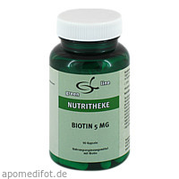 Biotin 5 mg Kapseln, 90 ST, 11 A Nutritheke GmbH
