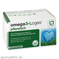 omega3-Loges pflanzlich, 120 ST, Dr. Loges + Co. GmbH