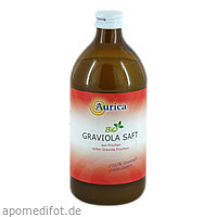 Graviola Direktsaft Bio 100 %, 500 ML, Aurica Naturheilm.U.Naturwaren GmbH