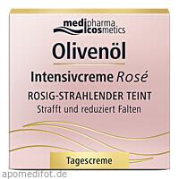 Olivenöl Intensivcreme Rose Tagescreme, 50 ML, Dr. Theiss Naturwaren GmbH