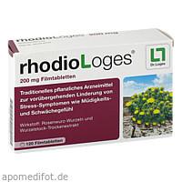 rhodioLoges 200 mg, 120 ST, Dr. Loges + Co. GmbH