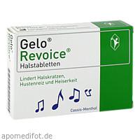 GeloRevoice Halstabletten Cassis-Menthol, 60 ST, G. Pohl-Boskamp GmbH & Co. KG