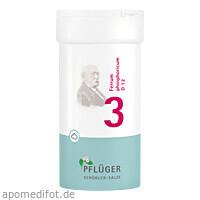 Biochemie Nr. 3 Ferrum phosphoricum Trit. D 12, 100 G, Homöopathisches Laboratorium Alexander Pflüger GmbH & Co. KG