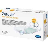 Zetuvit Plus Silicone Border 15 cm x 25 cm, 10 ST, Paul Hartmann AG