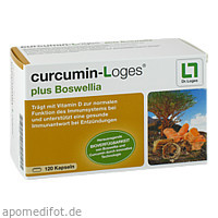 curcumin-Loges plus Boswellia, 120 ST, Dr. Loges + Co. GmbH
