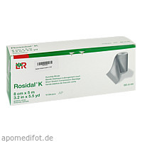 ROSIDAL K Binde 8 cmx5 m, 10 ST, B2b Medical GmbH