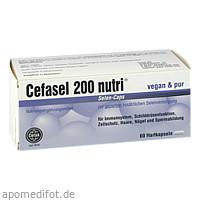 Cefasel 200 nutri Selen-Caps, 60 ST, Cefak KG