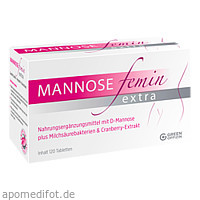Mannose Femin Extra, 120 ST, Green Offizin S.r.l.