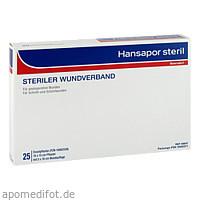 Hansapor steril 10x15 cm 25Stk, 25 ST, Beiersdorf AG