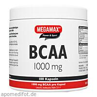 BCAA 1000 mg MEGAMAX, 100 ST, Megamax B.V.