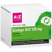 Ginkgo AbZ 120 mg Filmtabletten, 120 ST, Abz Pharma GmbH