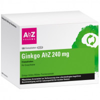Ginkgo AbZ 240 mg Filmtabletten, 120 ST, Abz Pharma GmbH