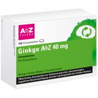 Ginkgo AbZ 40 mg Filmtabletten, 120 ST, Abz Pharma GmbH