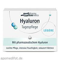 Hyaluron Tagespflege LEGERE im Tiegel, 50 Milliliter, Dr. Theiss Naturwaren GmbH