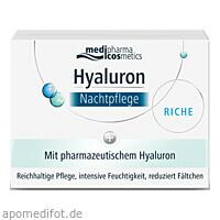 Hyaluron Nachtpflege RICHE im Tiegel, 50 Milliliter, Dr. Theiss Naturwaren GmbH