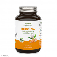 Acurmin Phytholistic Bio-Curcuma-Extrakt, 60 ST, Cellavent Healthcare GmbH