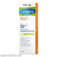 Cetaphil Sun Daylong SPF50+ Sens Gel-Fluid Gesicht, 50 ML, Galderma Laboratorium GmbH