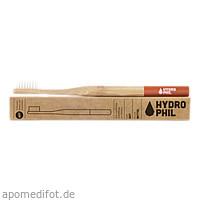 Nachhaltige Zahnbürste Bambus Rot mittelweich, 1 ST, wasserneutral GmbH
