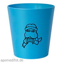 Kinder Zahnputzbecher blau, 1 ST, wasserneutral GmbH