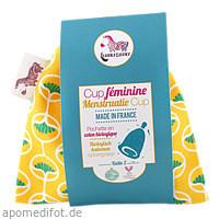 Menstruationstasse Größe 2 - gelb, 1 ST, wasserneutral GmbH
