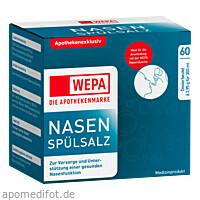 WEPA Nasenspülsalz, 20X2.95 G, Wepa Apothekenbedarf GmbH & Co. KG