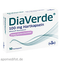 DiaVerde 100 mg Hartkapseln, 10 ST, Klinge Pharma GmbH