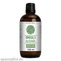 Omega 3 Algenöl DHA 300 mg + EPA 150 mg, 100 ML, Sinoplasan AG
