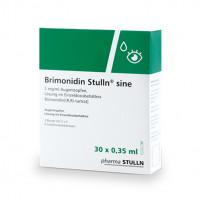 Brimonidin Stulln sine 2mg/ml Augentropfen, 30X0.35 ML, Pharma Stulln GmbH