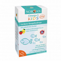 NORSAN Omega-3 Kids Jelly 120er Vorratspackung, 120 ST, San Omega GmbH