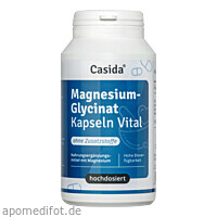 Magnesiumglycinat Kapseln Vital, 120 ST, Casida GmbH & Co. KG