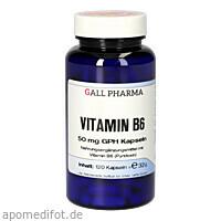 VITAMIN B6 50MG GPH KAPSELN, 120 ST, Hecht-Pharma GmbH