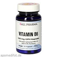 VITAMIN B6 100MG GPH KAPSELN, 30 ST, Hecht-Pharma GmbH