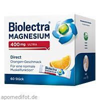 Biolectra Magnesium 400mg Ultra Direct Orange, 60 ST, Hermes Arzneimittel GmbH
