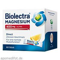Biolectra Magnesium 400mg Ultra Direct Zitrone, 60 ST, Hermes Arzneimittel GmbH