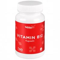 Vitamin B12 vegan Kapseln 1000 ug Methylcobalamin, 60 ST, BjökoVit