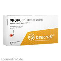 Beecraft Propolis Halspastillen, 30 ST, Roha Arzneimittel GmbH