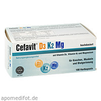 Cefavit D3 K2 Mg 2000 I.E., 100 ST, Cefak KG